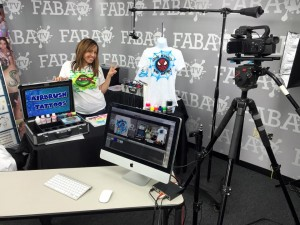 My live class on FABAtv- you can still watch and learn