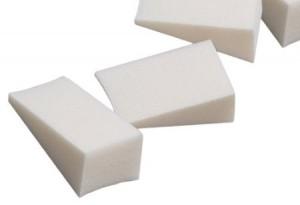 Foam latex make up wedges