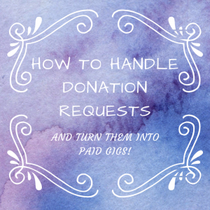 How to turn a donation request