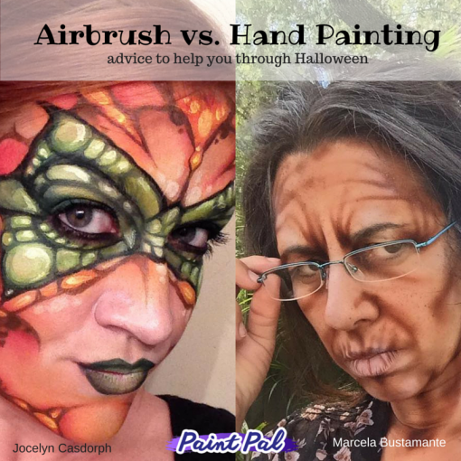 Airbrush vs. Hand Paint (1)