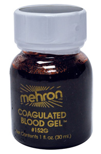 Stage Blood is the go to product for Halloween