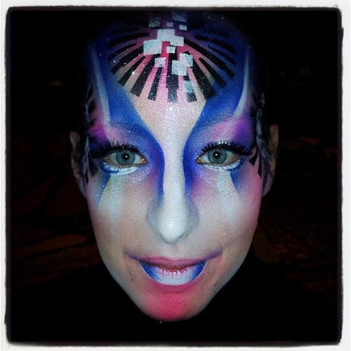The AMAZING Nix Herrera kills the airbrush make up creations. Check him out