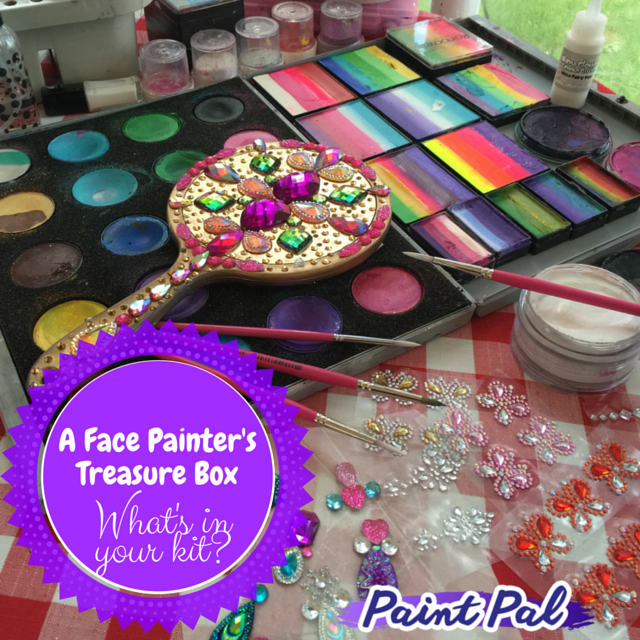 A Face Painter's Treasure Box