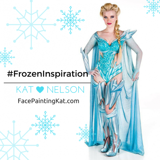 Who said Frozen was only for little ones? Kat Nelson's take on Elsa takes Frozen awesomeness to a new level