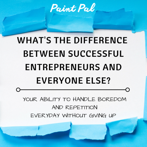 what's the difference between successful entrepreneurs and everyone else-