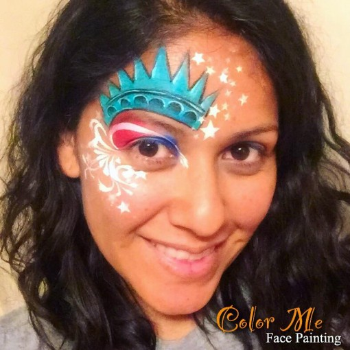 Color Me face painting is so full of ideas we LOVE her