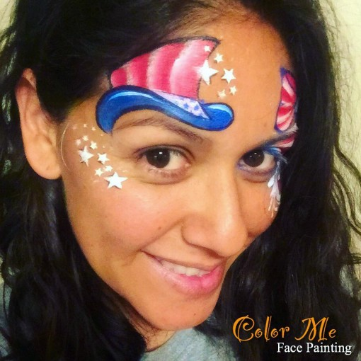 So nice I had to her her twice or three times) Make sure you are following Vanessa Mendoza of Color Me Face Painting