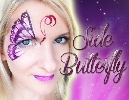 Love this side eye butterfly by Mandy Moody there's a tutorial for it too!