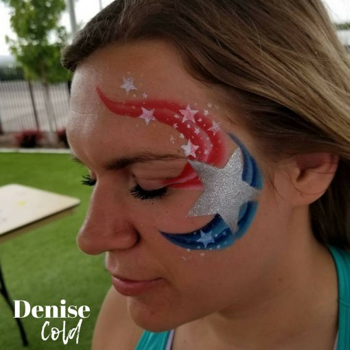 We've got stars in our eyes over this beautiful eye candy by the one and only Denise Cold
