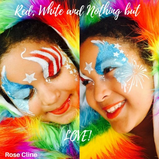 Red, white and nothing but love! Fun and fabulous by Rosa Cliine