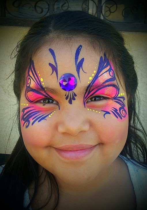 Azucena from Shine Face and Body Art blew me away with this one <3 LOVE