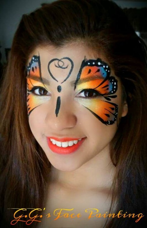 Giovanna of GG's face painting not only takes great pics of her models her face painting is awesome!