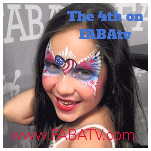 Marcela Mama Clown taught the best 4th of July Inspired designs class on FABAtv check it out