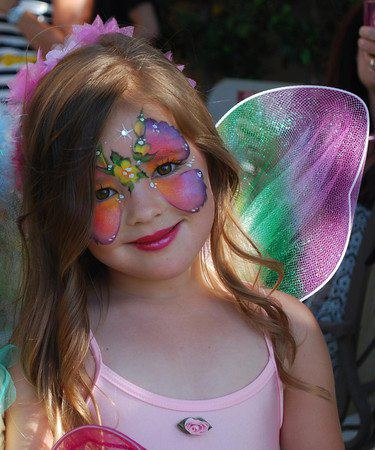 Creator of the Arty cakes- Rebecca always inspired us with her gorgeous fairy butterflies