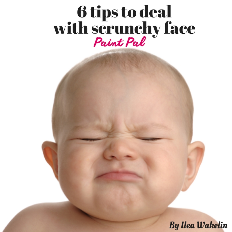6 Tips to dealwith scrunchy face