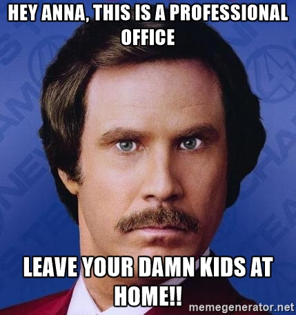 Don't know who Anna is but this meme was sorta funny