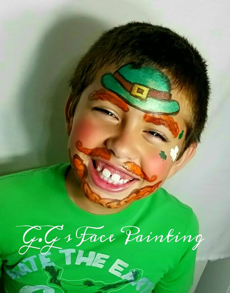 gg face painting