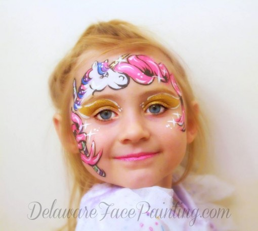 delaware face painting