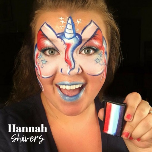 Hannah Shivers! She rocked her 4th of July cake!