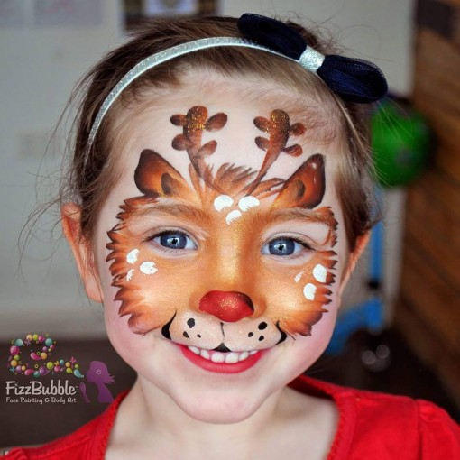 Fizzbubble face Painting is awesome!