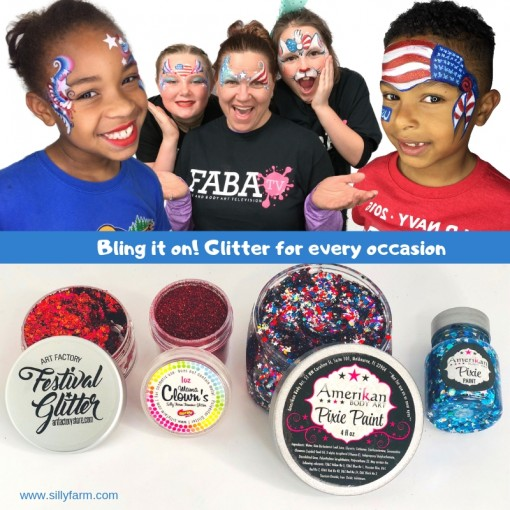 Bling it on!Glitter for every occasion