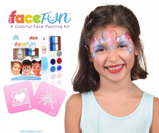 7 Must have Products for 4th of July and USA Face Painting |